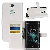 Чехол-книжка Litchie Wallet для Sony XA2 Plus H4413 Белый