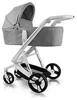 Дитяча універсальна коляска 2в1 Ibebe i-stop IS1 grey ( АйБебе ай-стоп)