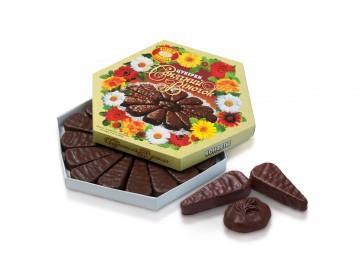 Конфеты шоколадные фасованные Солнечный веночек 500 гр. (ХКФ)  6 коробок в ящике