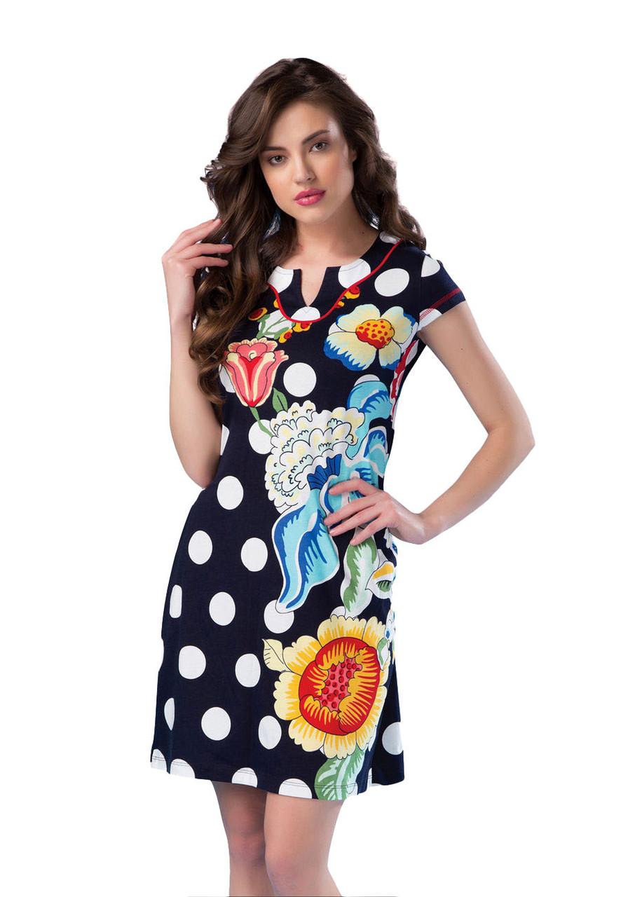 Летнее трикотажное платье (женское) Intensive №16274