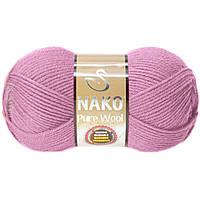 Nako Pure Wool розовый № 6936