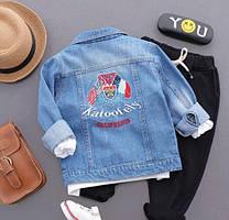 Детская куртка джинсовая 92, 98, 104, 116, 122