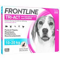 Merial FrontLine Tri-Act - капли  против блох и клещей для собак от 10 до 20кг ( 1 пипетка )