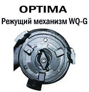 Насос фекальный с режущим механизмом Optima WQ10-12G 1.3кВт, фото 2