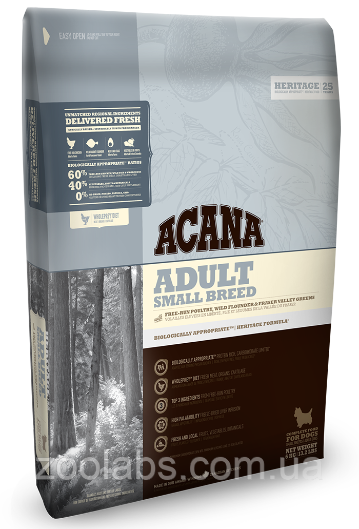 Корм Acana для собак мелких пород | Acana Small Breed 0,34 кг