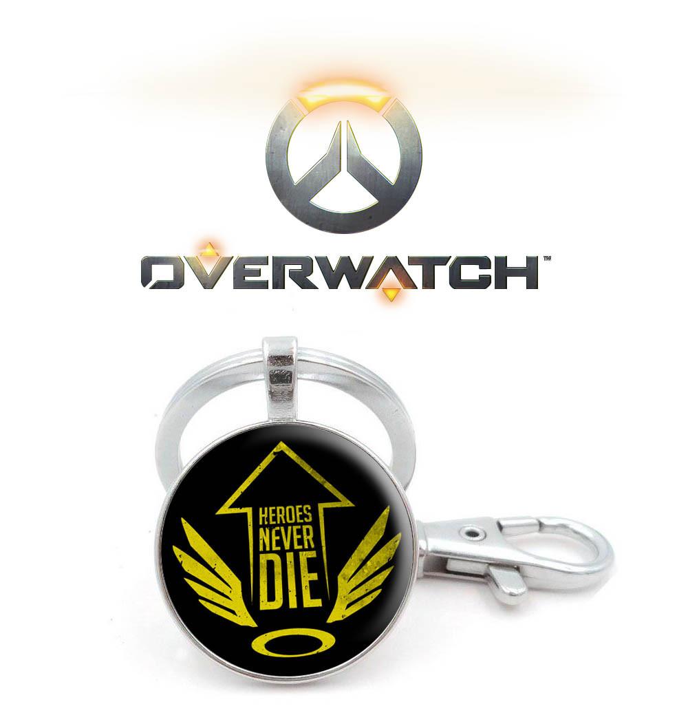 Брелок Overwatch с крыльями