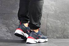 Мужские кроссовки Nike M2K Tekno,темно синие с белым 44р, фото 3