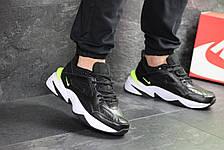 Мужские кроссовки Nike M2K Tekno,черно-белые, фото 2