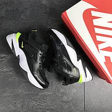 Мужские кроссовки Nike M2K Tekno,черно-белые, фото 3