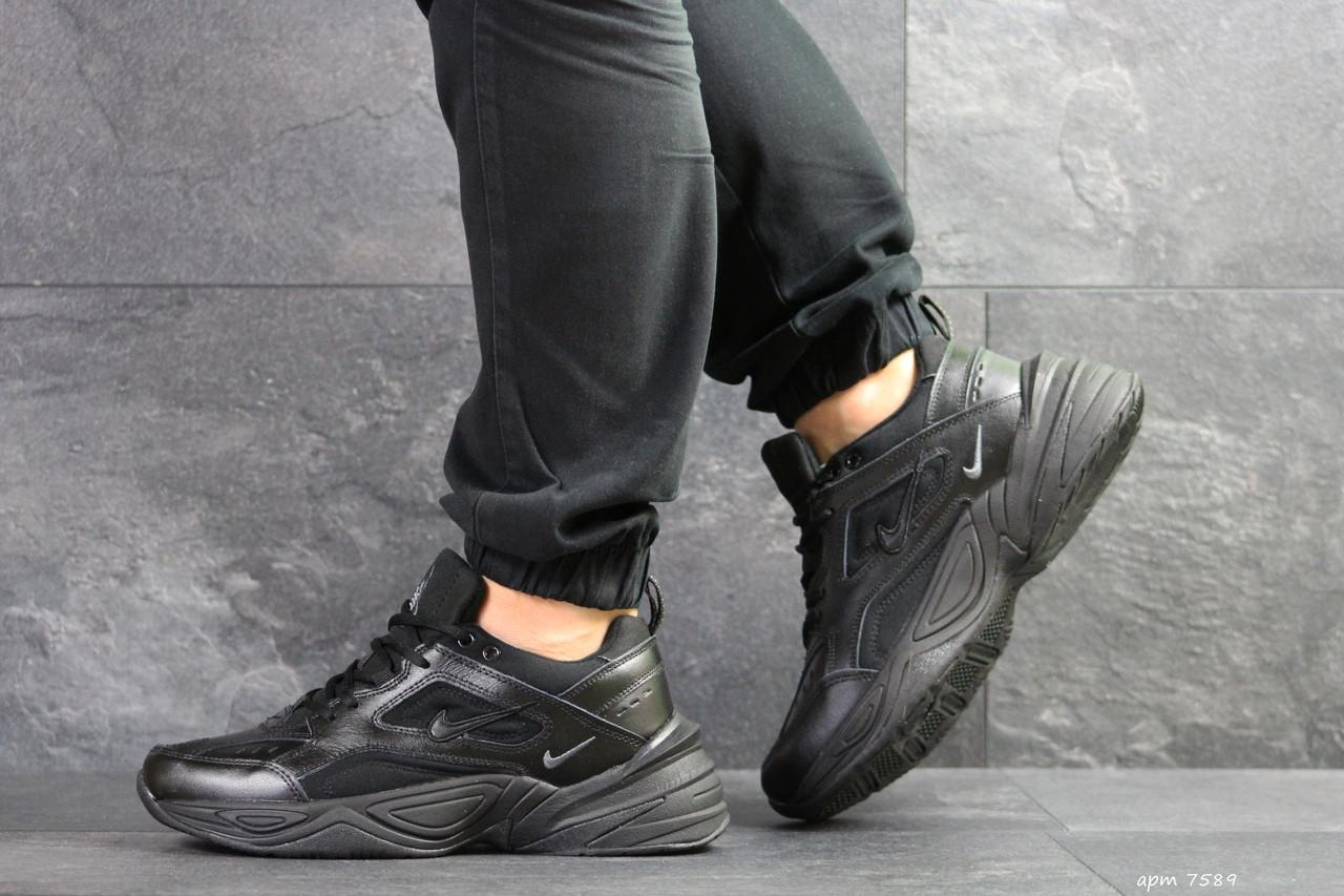 Мужские кроссовки Nike M2K Tekno,черные 43р