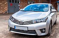 """Toyota Corolla """"Алькантара"""" Модельные авточехлы MILLENNIUM, фото 1"""