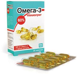 ОМЕГА-3 КОНЦЕНТРАТ 60% 1000МГ N30 КАПС/РЕАЛКАПС/