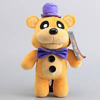 Мягкая игрушка Золотой Фредди из игры Пять ночей с Фредди / Five Nights At Freddy's Golden Freddy Plush Toys, фото 1