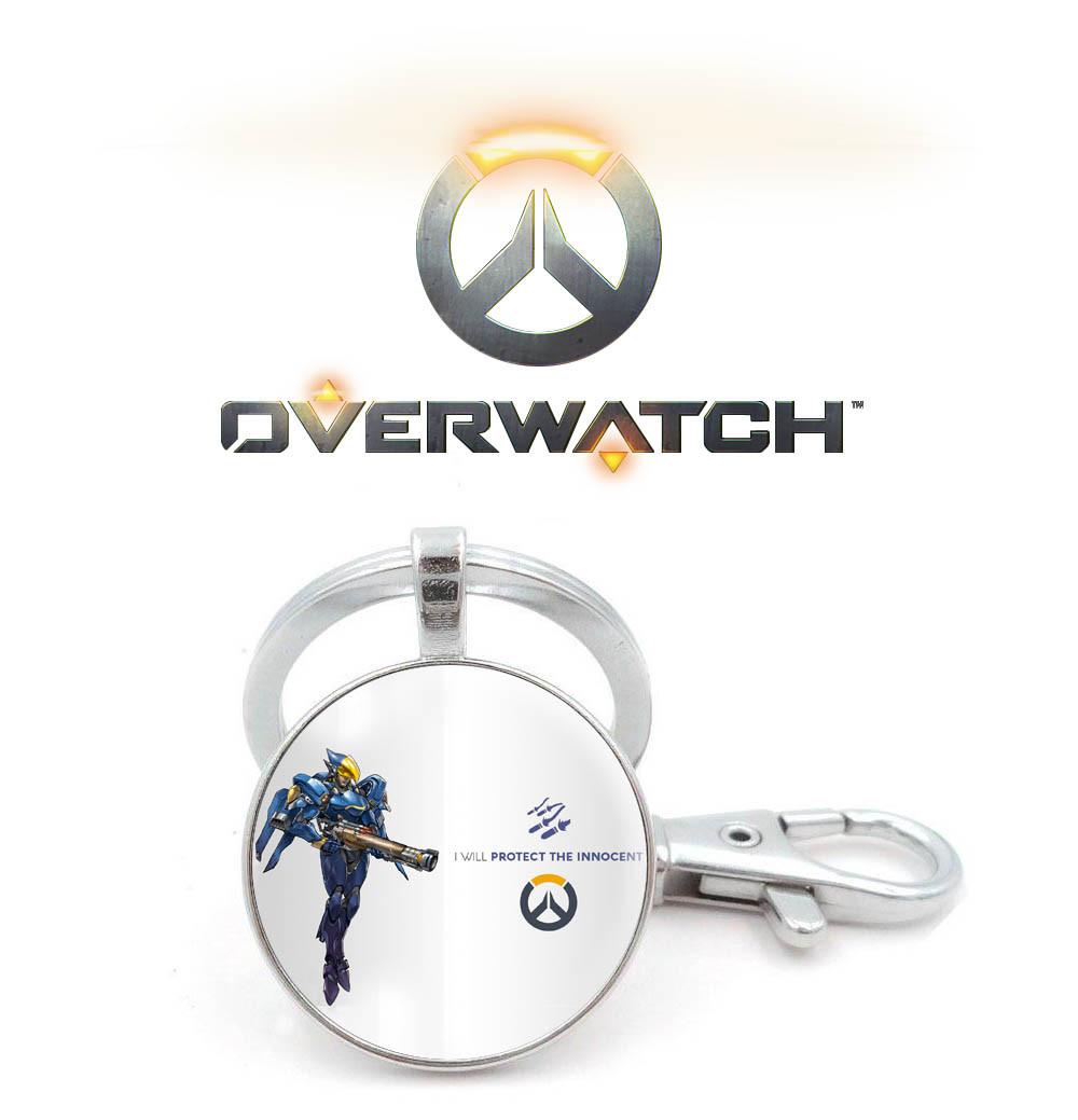 Брелок Overwatch с игровым персонажем Фарра