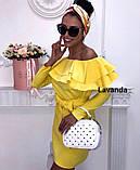 Платье женское с воланами, фото 3