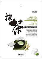 Тканевая маска для лица с экстрактом зеленого чая  MITOMO 25 г (4582419531604)
