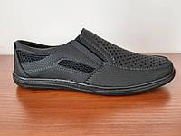 Босоніжки сандалі чоловічі чорні зручні, фото 1