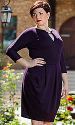 Платье женское большой размер, батал 1006-2