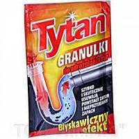 Гранулы для чистки канализационных труб TYTAN  50g