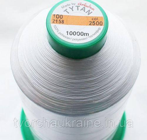 Нитки для вышивания бисером TYTAN100  Ariadna (Польша), 10 000 м