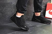 Мужские кроссовки Nike Air Max 270 текстиль,черные 44,46р, фото 2