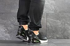 Чоловічі кросівки Nike Air Max 270 текстиль,чорно-білі 44,46 р, фото 3