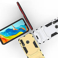 PC + TPU чехол Metal armor для Huawei Nova 4e (7 цветов)