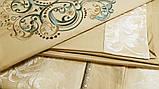 Постільна білизна сатин-жаккард FSM512 Сімейний Word of Dream, фото 3