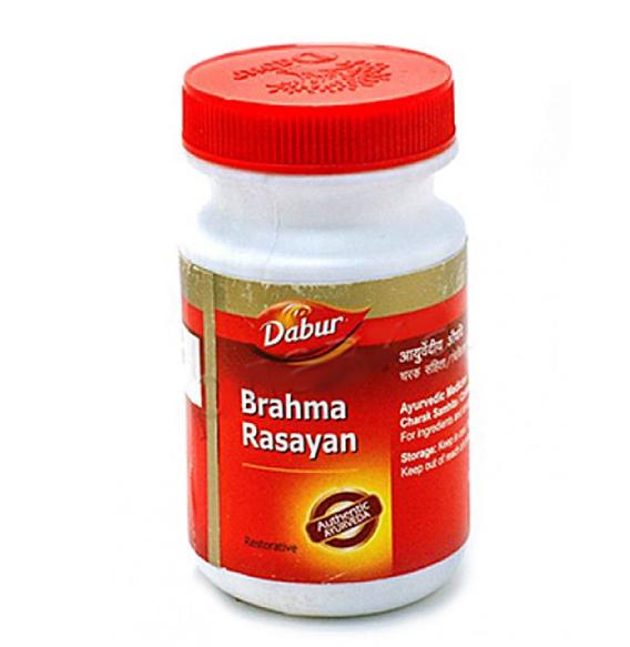 Мозговой тоник укрепляющий память Чаванпраш Брахма расаяна, Brahma rasayan,Брахми расаяна, Dabur, Дабур, 250 г