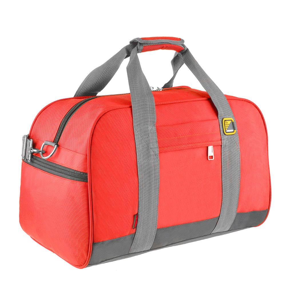 Дорожная сумка TONGSHENG 46х31х26 красная ткань оксфорд  кс99566кр