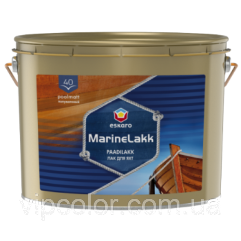 Eskaro Marine Lakk 40 2,4 л полуматовый лак для яхт арт.4740381011306