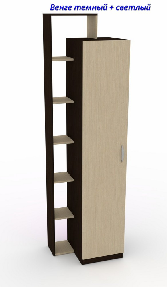 Шкаф с полками для одежды Шкаф - 8