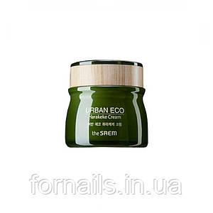 Успокаивающий крем с новозеландским льном The Saem Urban Eco Harakeke Cream, 60 мл