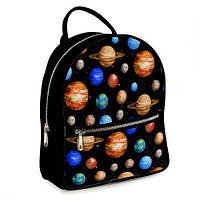 Рюкзак 3D чорний, Планети