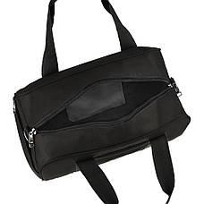 Дорожная сумка TONGSHENG ткань оксфорд 46х31х26 чёрная  кс99566ч, фото 3