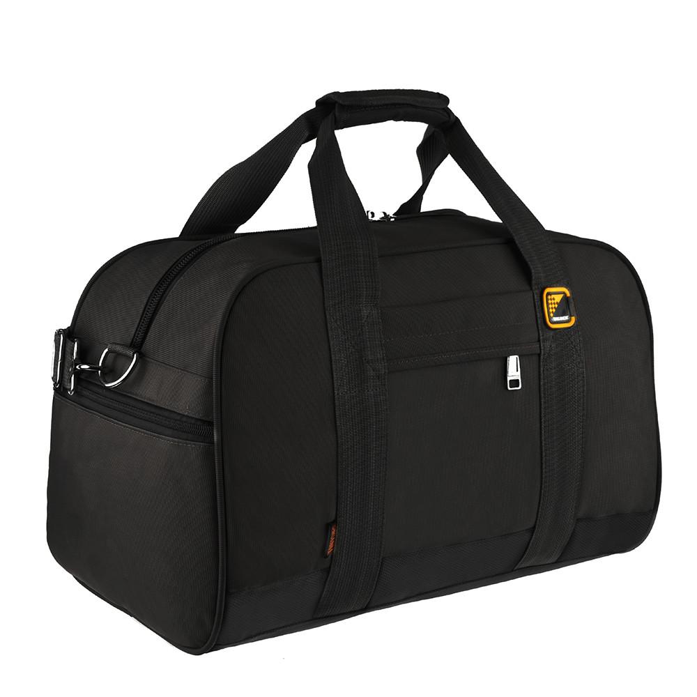 Дорожная сумка TONGSHENG ткань оксфорд 46х31х26 чёрная  кс99566ч