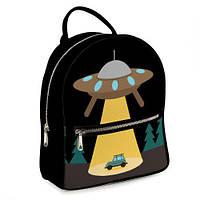 Рюкзак 3D чорний, Інопланетний корабель