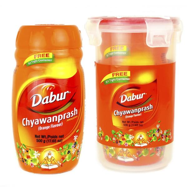 Чаванпраш Дабур со вкусом апельсина, Dabur Chyawanprash Orange,500 г