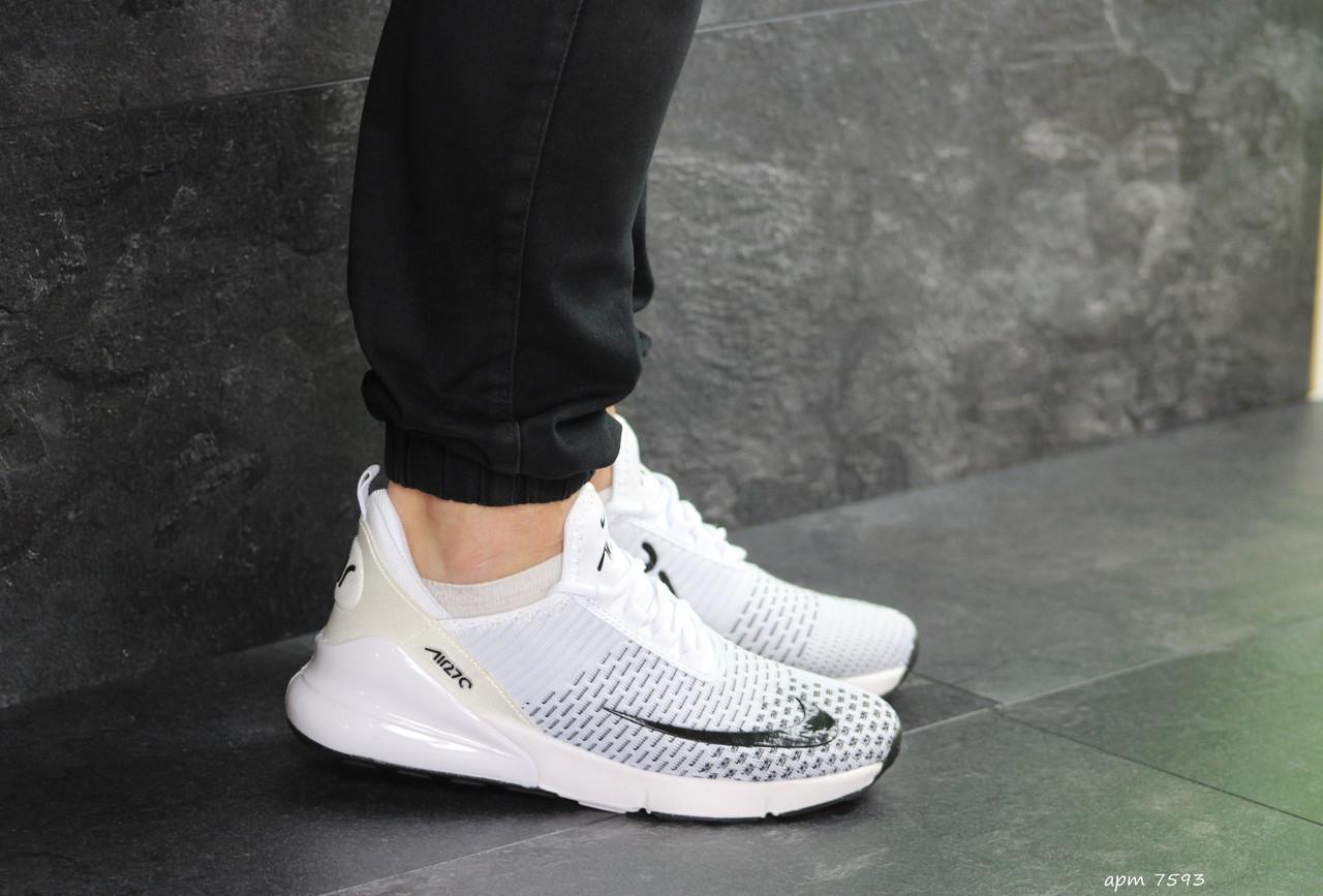 5fb68c25 Мужские кроссовки Nike Air Max 270 белые ( реплика ААА+) - купить по ...