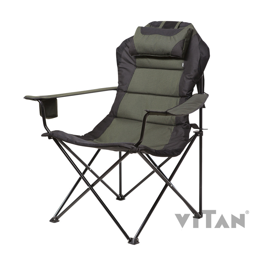 """Кресло """"Мастер карп"""" d16 мм (зеленый Меланж)"""
