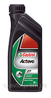 Масло моторн. Castrol Act evo scooter 2T (Канистра 1л)