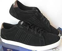 """Мужские кроссовки в стиле Adidas """"Stan Smith"""" черный замш, фото 1"""