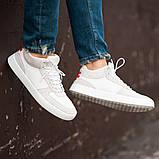Мужские кроссовки South Wild white, замшевые белые мужские кроссовки, замшевые классические кеды, фото 2