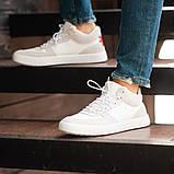 Мужские кроссовки South Wild white, замшевые белые мужские кроссовки, замшевые классические кеды, фото 3
