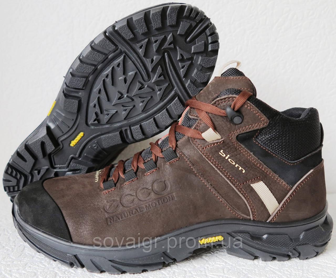 f292a31f92db6b Экко зимние кожаные ботинки из кожи мех Ессо кроссовки коричневые