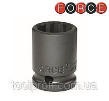 """Головка 12-гранная ударная 1"""", 65 мм (Force 48865)"""