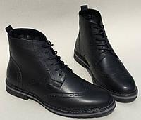 TODS реплика! мужские зимние броги оксфорд на шнуровке натуральная кожа ботинки , фото 1