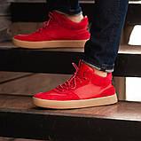 Мужские кроссовки South Wild red, замшевые красные мужские кроссовки, замшевые классические кеды, фото 2