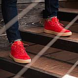 Мужские кроссовки South Wild red, замшевые красные мужские кроссовки, замшевые классические кеды, фото 3