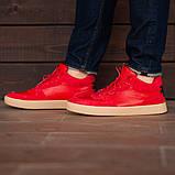 Мужские кроссовки South Wild red, замшевые красные мужские кроссовки, замшевые классические кеды, фото 4